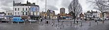 Junction of New Road, Vallance Road and Whitechapel High Street, Jan 2005
