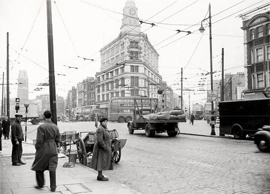 Gardiners Corner Nov 1950